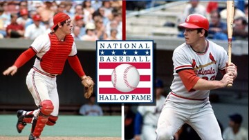 Ted Simmons talks about election to the National Baseball Hall of Fame