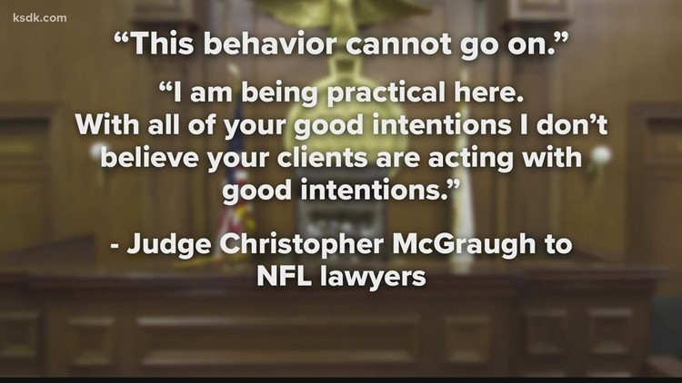 Judge orders fines for 4 NFL owners for not releasing financial documents in St. Louis lawsuit