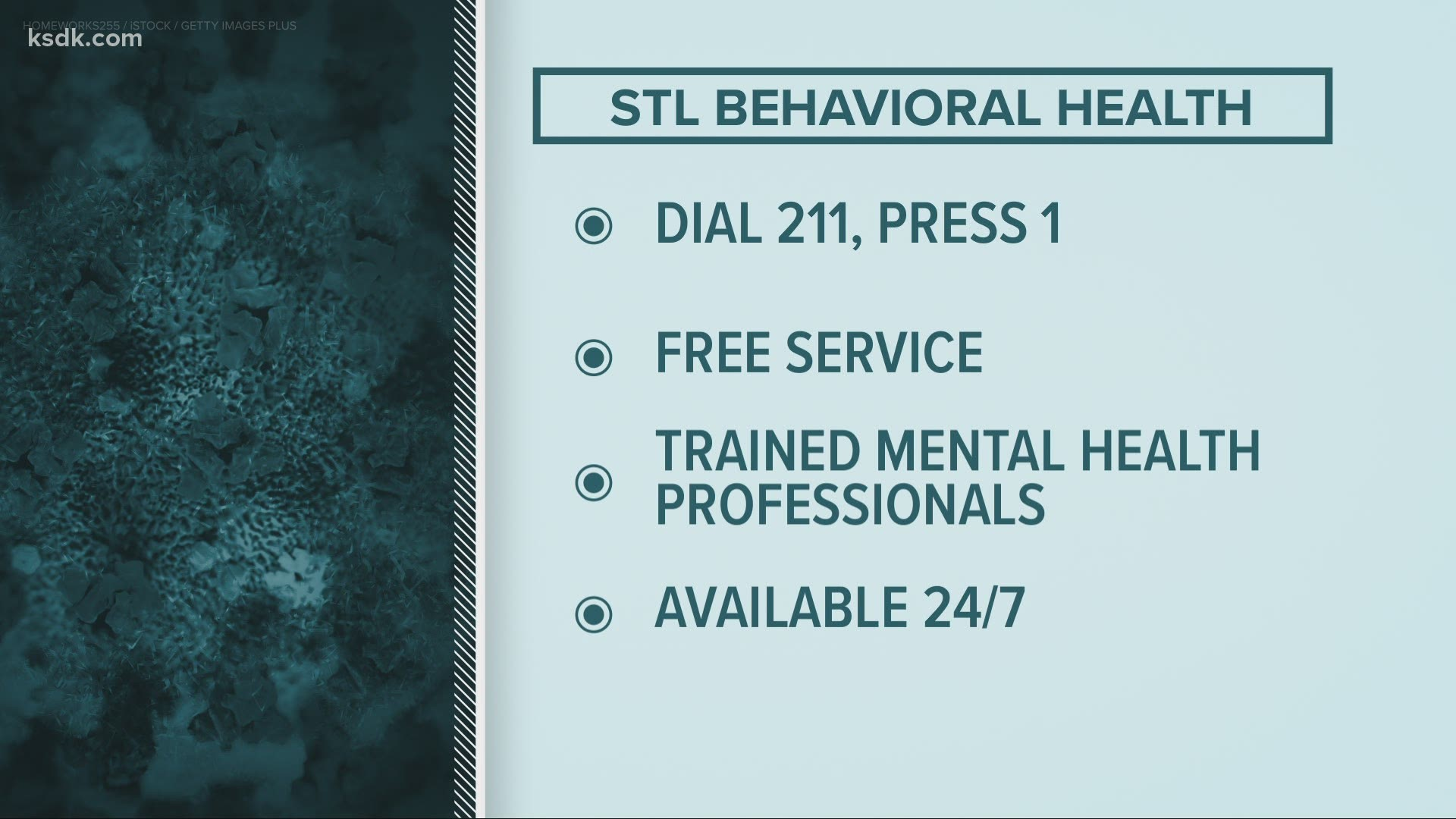St Louis Free Mental Health Services Ksdk Com