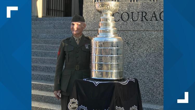 Stanley Cup surprise visit