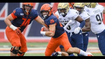 Illinois football running back Epstein out for rest of season