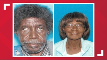Police looking for missing woman and man with dementia