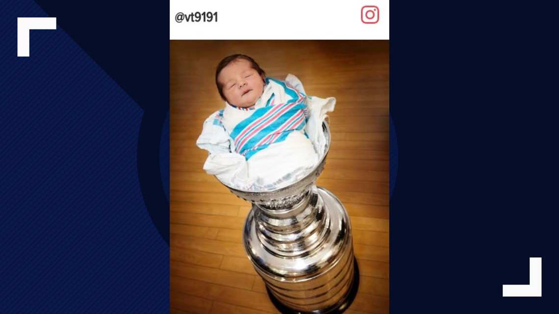 There's a baby in the Stanley Cup | ksdk.com