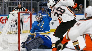 Commentary: Offense drying up for Blues, lose to Ducks, snapping 9-game point streak