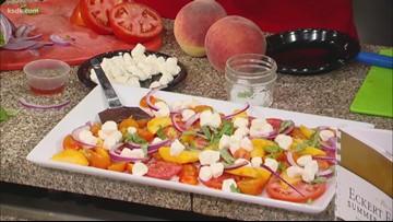 Recipe of the Day: Peach Tomato Mozzarella Salad