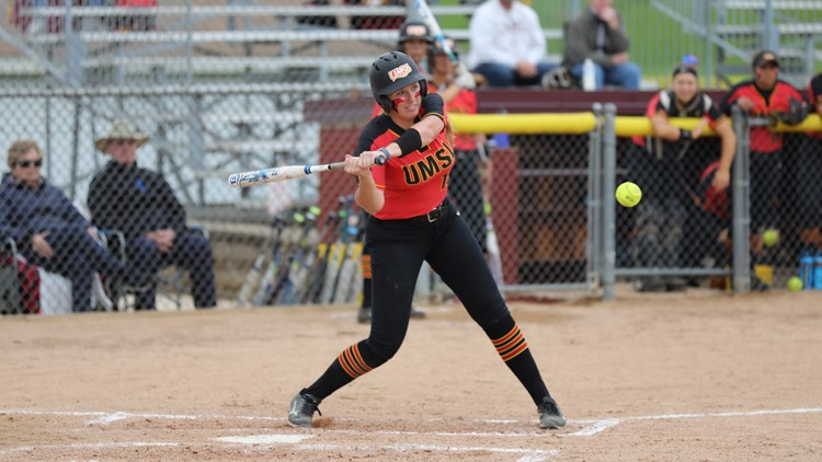 Senior Chelsea Martinez delivered the game-winning hit to help UMSL win the 2019 GLVC Tournament.