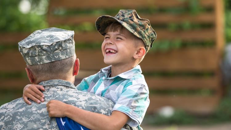 New program honors military kids who are 'little heroes' in their communities