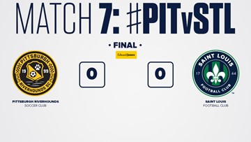 STLFC draws 0-0 against Pittsburgh Riverhounds