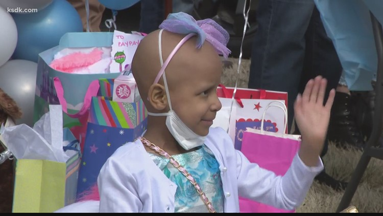 Ferguson police chief organizes birthday parade for 6-year-old fighting cancer