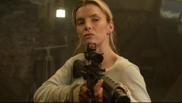 Dark humor and a breakout Betty Gilpin performance make 'The Hunt' a sadistic delight