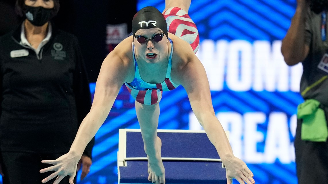 Tokyo Olympics: Swimmer, Lilly King