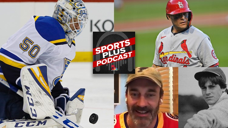 Sports Plus Podcast | Blues kick off exciting 2021, Yadi's relationship with Cards and chatting with Jon Hamm