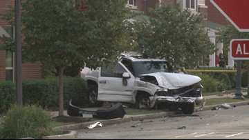 Woman killed in crash with stolen car in north St. Louis