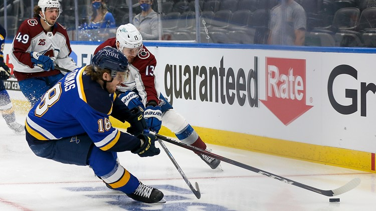 Blues pushed to the brink by Avalanche with a 5-1 loss in Game 3