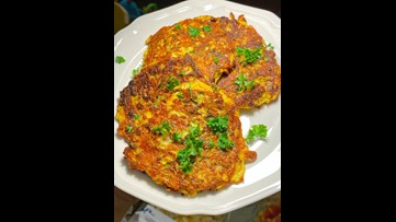 Recipe of the Day: Zucchini Cheddar Fritters