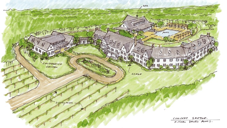 Winery owner Hoffmann Family of Companies acquires land for 5-star hotel