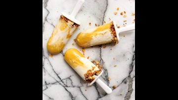Recipe of the Day: Tropical Smoothie Popsicles with Granola