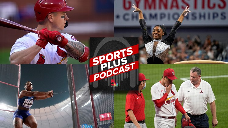 Sports Plus Podcast: Cardinals concern, playoff odds and ends and Olympic hype builds