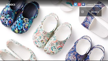 Crocs and Vera Bradley teamed up for the ultimate summer shoe