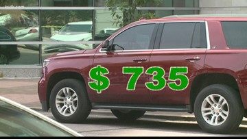 Bell racks up tickets with county-owned SUV