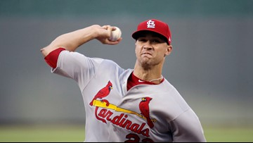 Flaherty leads Cardinals to 2-0 win over Royals