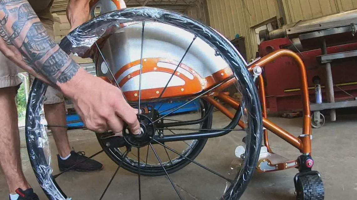 My Lou: Building a better wheelchair