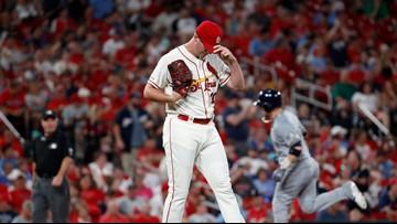 Homers help send Brewers over Cardinals 5-2