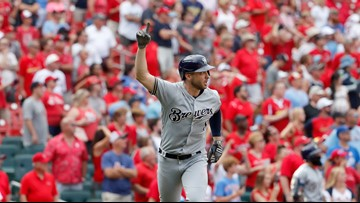 9th inning grand slam costs Cardinals in key game against Brewers