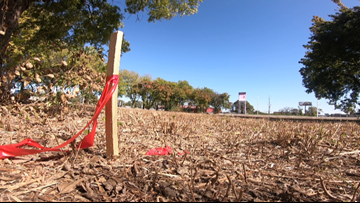 IDOT construction project unearths human bones left from former cemetery