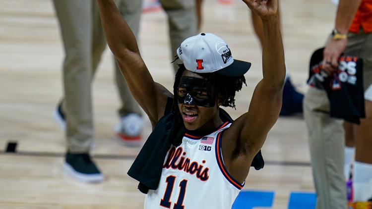 Dosunmu is first Illini player ever named AP First-Team All-American, Cockburn named to second team