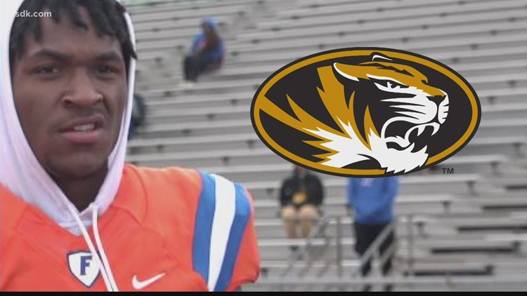 Mizzou continues to court prized football recruit Luther Burden Jr.