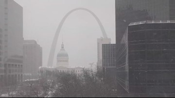 Snow moves out of the area, but cold will stick around