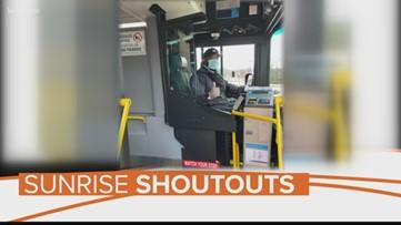 Sunrise Shoutout: Public transportation workers