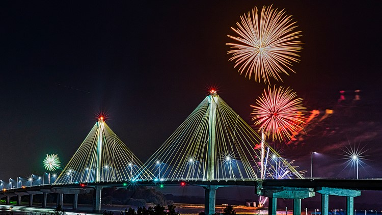 Miss the 4th of July fireworks? Here's where you can see fireworks all summer long