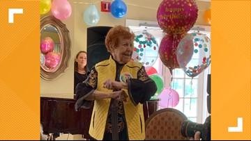 Kirkwood woman celebrates 107th birthday