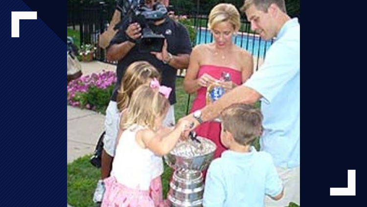 After the Hurricanes won the Stanley Cup in 2006, Doug Weight brought the Cup to his house and let his kids eat ice cream out of it.