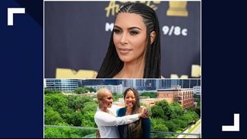Kim Kardashian West locks arms with prison reform warriors