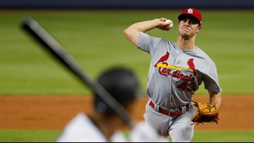 Hudson pitches 7 innings to help Cardinals beat Marlins 7-1