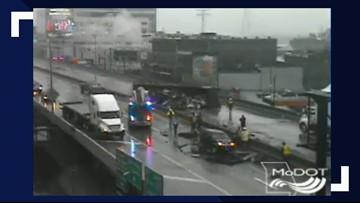 I-44 back open after overturned tractor-trailer