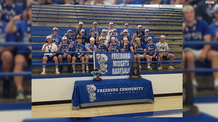Freeburg baseball caps off dominant season with first state title since 1989