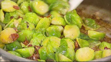 Recipe of the Day: Fermented Garlic Honey Brussels Sprouts