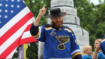 Ryan O'Reilly: Blues' Stanley Cup parade was 'coolest thing I've ever experienced'