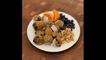 Recipe of the Day: Mini Blueberry Walnut Muffins
