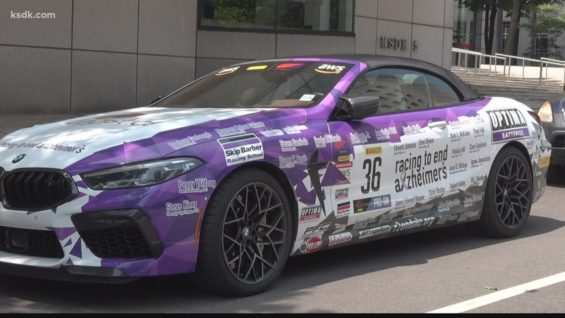 Racing to end Alzheimer's car travels all over the country raising money
