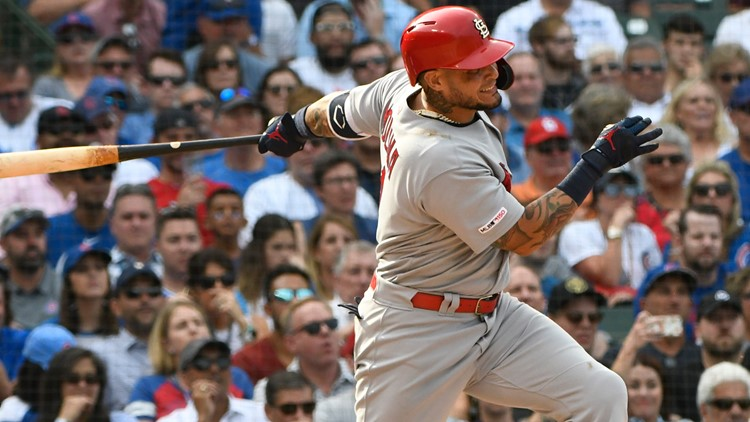 Yadi's toughness, clutch gene carries Cardinals once again
