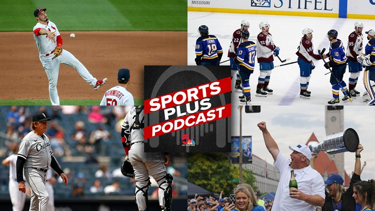 Sports Plus Podcast | Blues swept away, Cardinals take on Tony La Russa and a conversation with Brett Hull