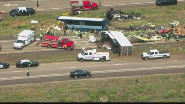 At least 4 dead in Greyhound bus crash