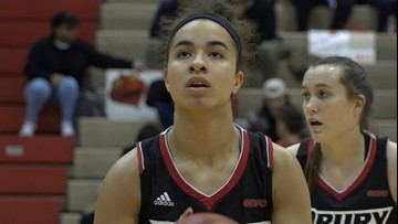 She's just 5-foot-10 but is one of the best forwards in the nation