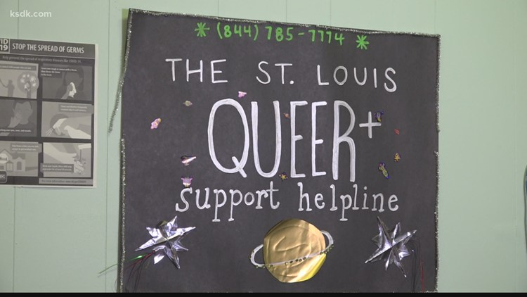 'I don't think there's another service like it' | St. Louis organization offers peer support through LGBTQIA+ helpline