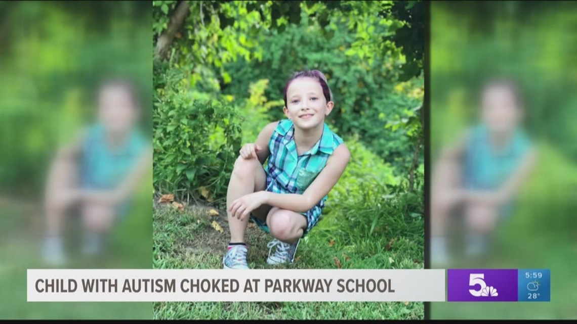 Child with autism allegedly choked at Parkway school